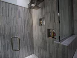 Click to enlarge image  - A stylish bathroom -